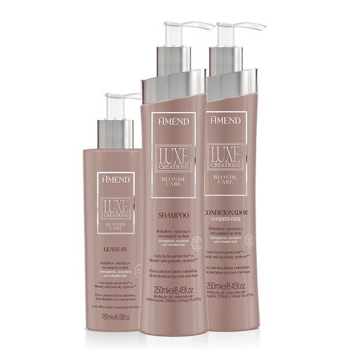 Kit-Amend-Luxe-Blonde-Care-Basic-3pc-II