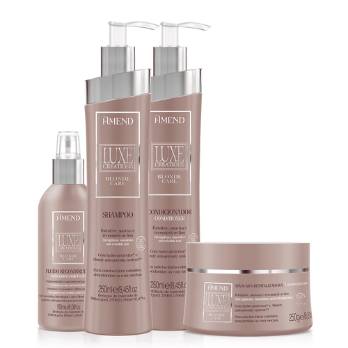 Kit-Amend-Luxe-Blonde-Care-Basic-4pc-III