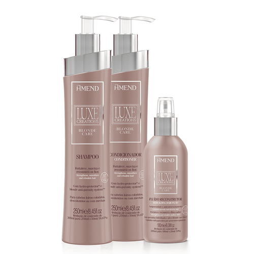 Kit-Amend-Luxe-Blonde-Care-Basic-3pc-IV